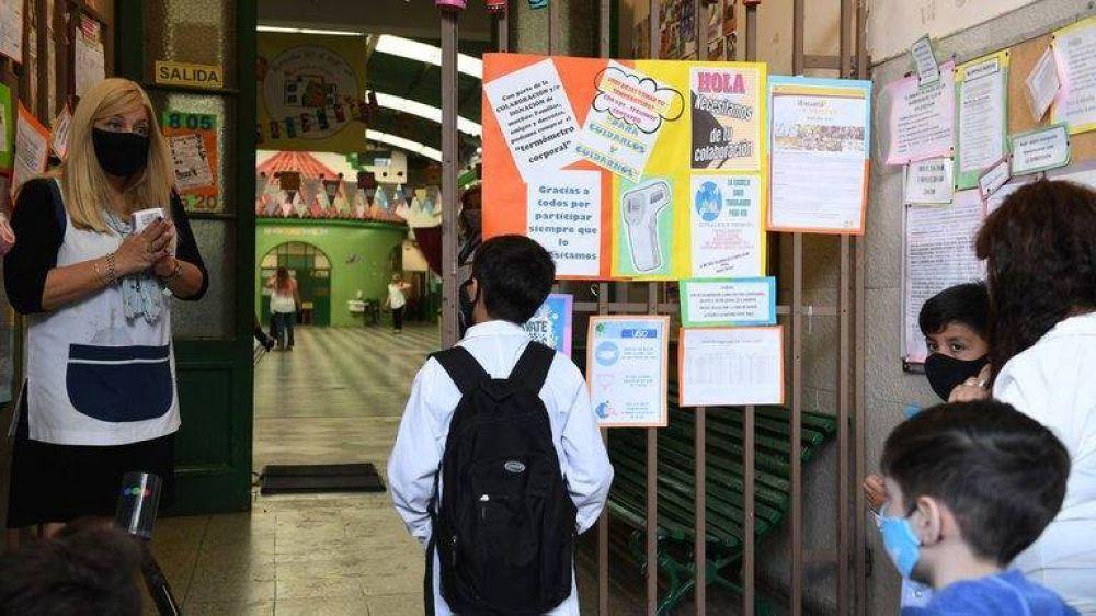 El gobierno porteño sumará días al calendario escolar 2022 y asegura que habrá más tiempo de clases