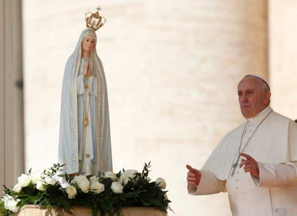 Al recordar apariciones de la Virgen de Fátima, el Papa Francisco da esta enseñanza