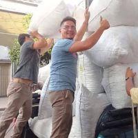 Material reciclado en el Poder Judicial permitió comprar insumos para personas de escasos recursos
