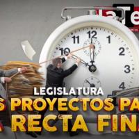 Legislatura: los proyectos para la recta final