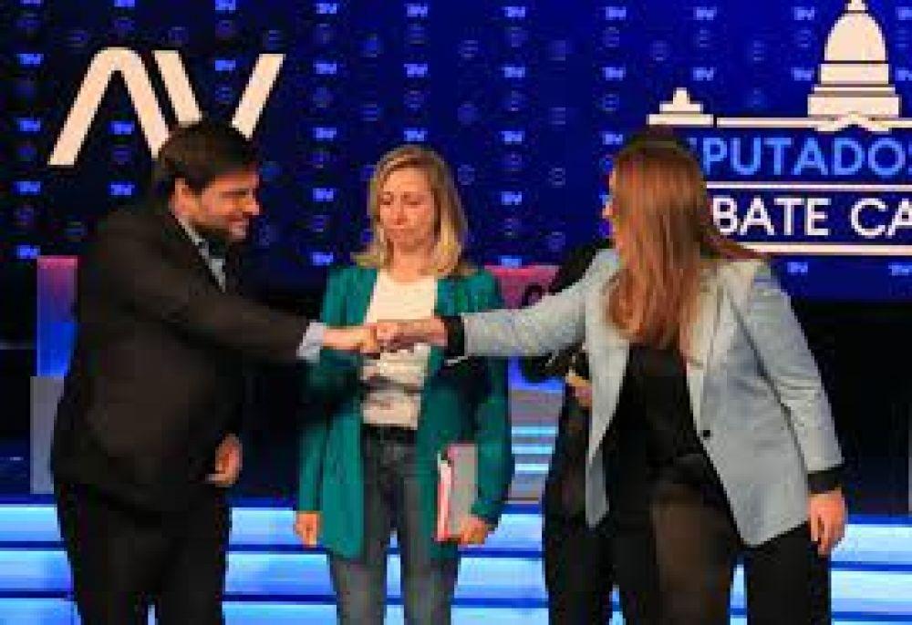 Empate: profesionales de la grieta, Vidal y Santoro ganaron el debate porteño