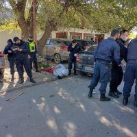 Dos heridos y 10 detenidos en una batalla campal entre facciones de la Uocra Santa Cruz