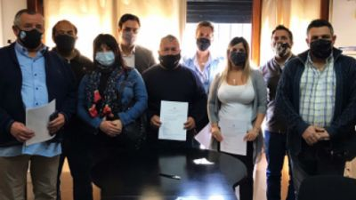 Se firmó un acuerdo para preservar los 500 puestos de trabajo tras el incendio en el Parque Industrial de Quilmes