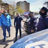 Fernando Gray, junto a Sergio Berni, presentó 20 nuevos móviles para la Guardia Urbana