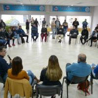 Martínez, jóvenes de la CGT y candidatos a diputados compartieron una charla debate