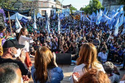 Con un multitudinario acto, las Mujeres sindicalistas mostraron su potencia y reclamaron más espacio en la CGT