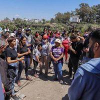 Mendoza recorrió el barrio Finexcor en el marco de una jornada de limpieza integral