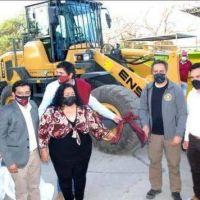 Residuos sólidos: entregaron maquinaria al Consorcio Valle de Siancas