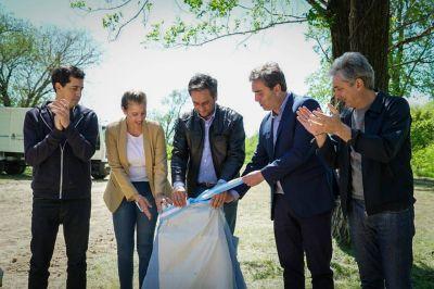 Cabandié anunció la llegada del nuevo Centro Ambiental para Luján que erradicará el basural a cielo abierto más grande del país