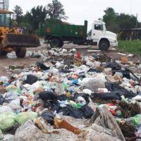 Tras la lluvia, el Municipio inició operativo de limpieza y erradicación de basurales