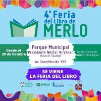Llega la 4ta Feria del Libro en Merlo