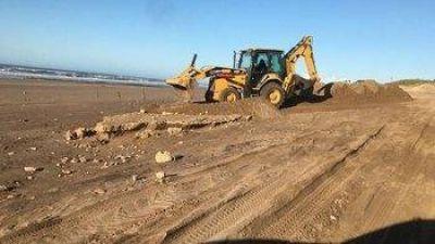 Acuerdo público-privado en Necochea para limpiar las playas antes del verano