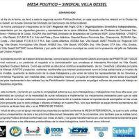 Elecciones: CGT, CTA y organizaciones gremiales conformarán una mesa intersindical