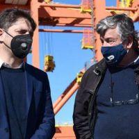 Axel Kicillof encabeza una acto en Astillero Río Santiago