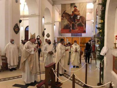 En Villa Cura Brochero, el Nuncio recordó que la santidad es un llamado para todos