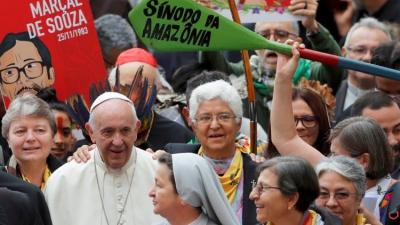 Francisco otorga el reconocimiento canónico a la Conferencia Eclesial de la Amazonía