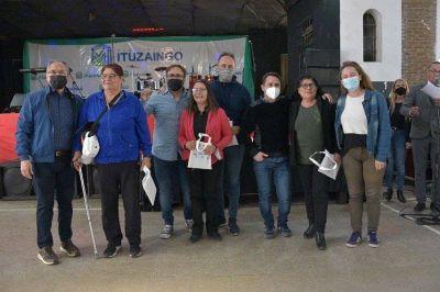 Descalzo y Piana participaron del 25° aniversario de las Manzaneras