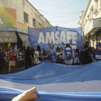 Amsafé ratificó el paro de 48 horas e insistió con el pedido de mejorar la propuesta