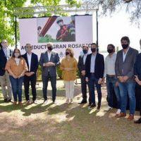 Planta potabilizadora de agua: Perotti lanzó la ampliación