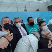 Junto a Alberto Fernández, ATE participó del acto de ampliación del subrégimen de promoción industrial de Tierra del Fuego