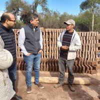 Zdero y Polini llevaron sus propuestas a productores del interior provincial