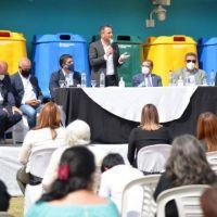 Cebil Redondo recibió insumos para avanzar en la gestión de residuos sólidos