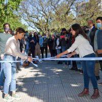 Mayra en la inauguración de la plaza Yrigoyen: «Seguimos impulsando obras para hacer de Quilmes el lugar que todos y todas nos merecemos»