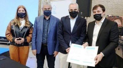 Desarrollo Urbanístico Avellaneda I: Ferraresi firmó el inicio de obra