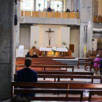 Santilli visitó el Santuario de San Nicolás