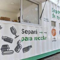 Instalaron el primer ECO Punto de Reciclado en la ciudad