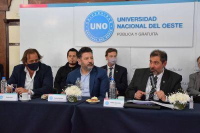 Nuevas autoridades en la Universidad Nacional del Oeste
