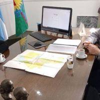 San Cayetano: gestiones del intendente Gargaglione en el ministerio de Seguridad
