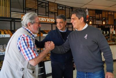Jorge Macri visitó Malvinas Argentinas para respaldar a los candidatos de Juntos