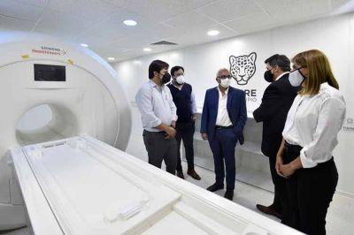 Tigre inauguró el nuevo resonador magnético nuclear de alto campo en el HDI de Don Torcuato