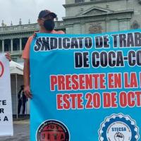 Guatemala: Stecsa y Festras movilizados en el Día de la Revolución