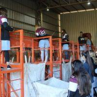 Alumnos de la escuela visitaron la planta GIRSU
