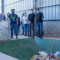 Fue puesta en funcionamiento la nueva Planta de Reciclado