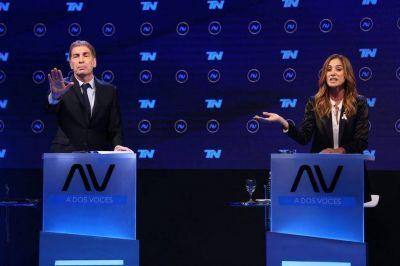 Elecciones 2021: Diego Santilli y Victoria Tolosa Paz polarizaron el debate de los candidatos bonaerenses