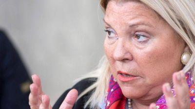 """Elisa Carrió acusó al kirchnerismo de estar """"detrás de las tomas para terminar en negocio inmobiliario"""""""