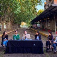 """En Mercedes, Bauer y Ustarroz anunciaron quinta cuota del programa """"Cultura Solidaria"""""""
