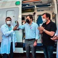 El hospital Erill recibió una unidad de terapia intensiva móvil de alta complejidad