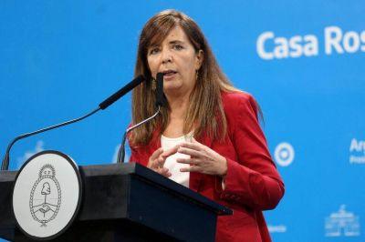 Gabriela Cerruti afirmó que el Gobierno va a controlar los precios y cuestionó la actitud de Rodríguez Larreta