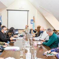 Legisladores recibieron a referentes gremiales de la educación y municipales