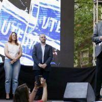 Utedyc La Plata inauguró su Centro de Formación Laboral con un convocante acto