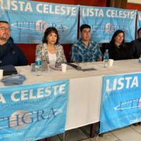 La Lista Celeste busca recuperar la conducción de UTHGRA Seccional Bariloche