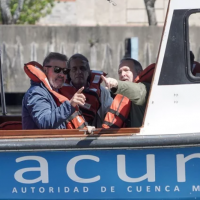 ACuMaR y el juez de la Causa Mendoza supervisaron el estado del Río Matanza