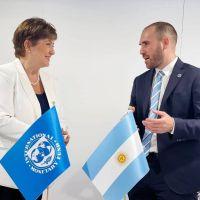 G20: Fernández y Guzmán van a buscar apoyo del FMI, que habla de expectativas de inflación