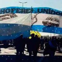 Protesta en Puente Pueyrredón