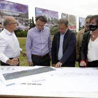 Cascallares y Katopodis recorrieron las obras del imponente Parque Municipal Don Orione