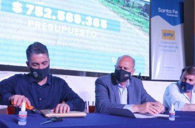 Primer paso para la construcción de un acceso a Fray Luis Beltrán desde la autopista Santa Fe - Rosario